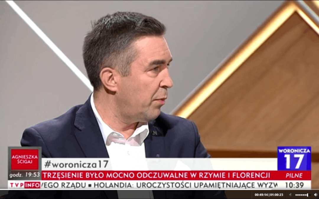 Podsumowanie roku rządów PIS, CETA, katastrofa smoleńska- Woronicza 17- TVP INFO