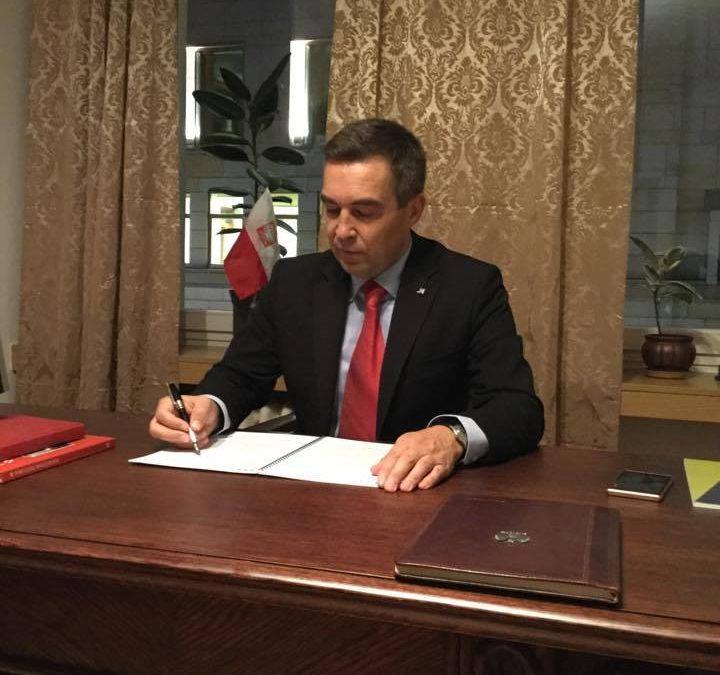 Zbigniew Gryglas Poseł na Sejm RP donosi z Wiejskiej.