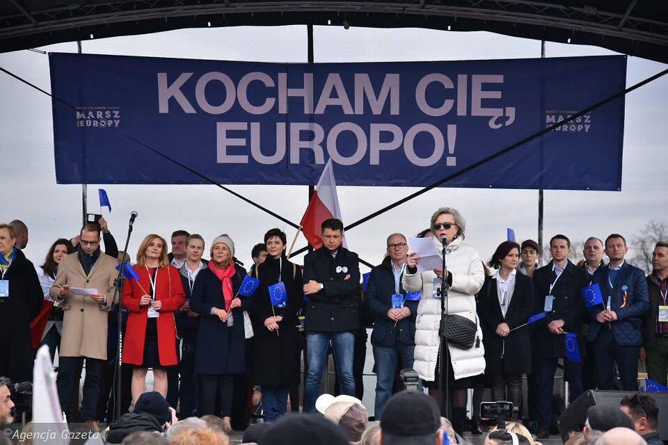 Marsz dla Europy: Kocham Cię, Europo!