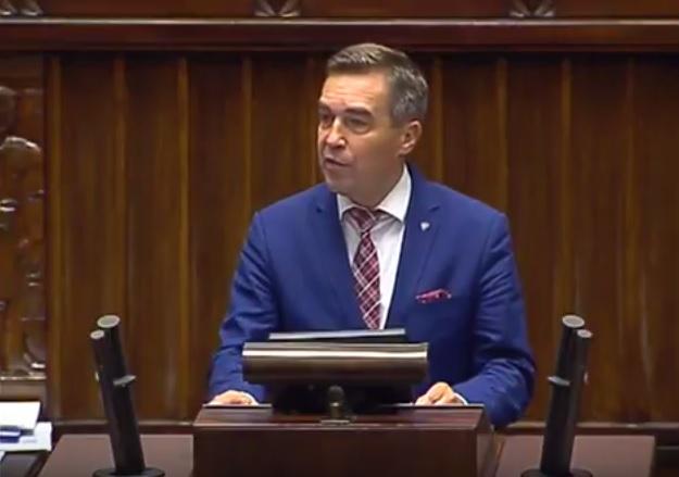 Zbigniew Gryglas-warszawski poseł donosi z Sejmu Rzeczypospolitej