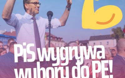 26 maja- PiS wygrywa wybory do Parlamentu Europejskiego- Dziękujemy!