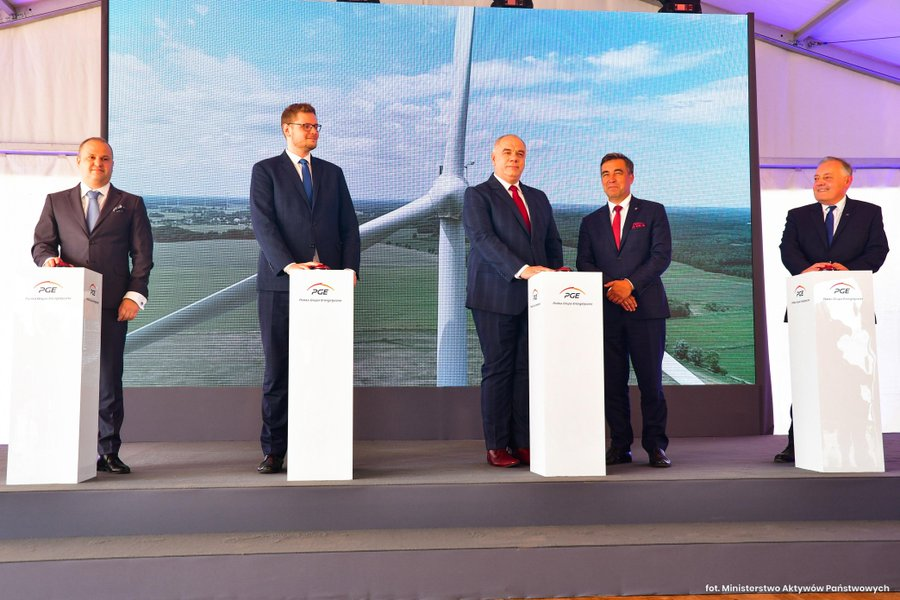 Grupa PGE uruchamia dwie nowe farmy wiatrowe