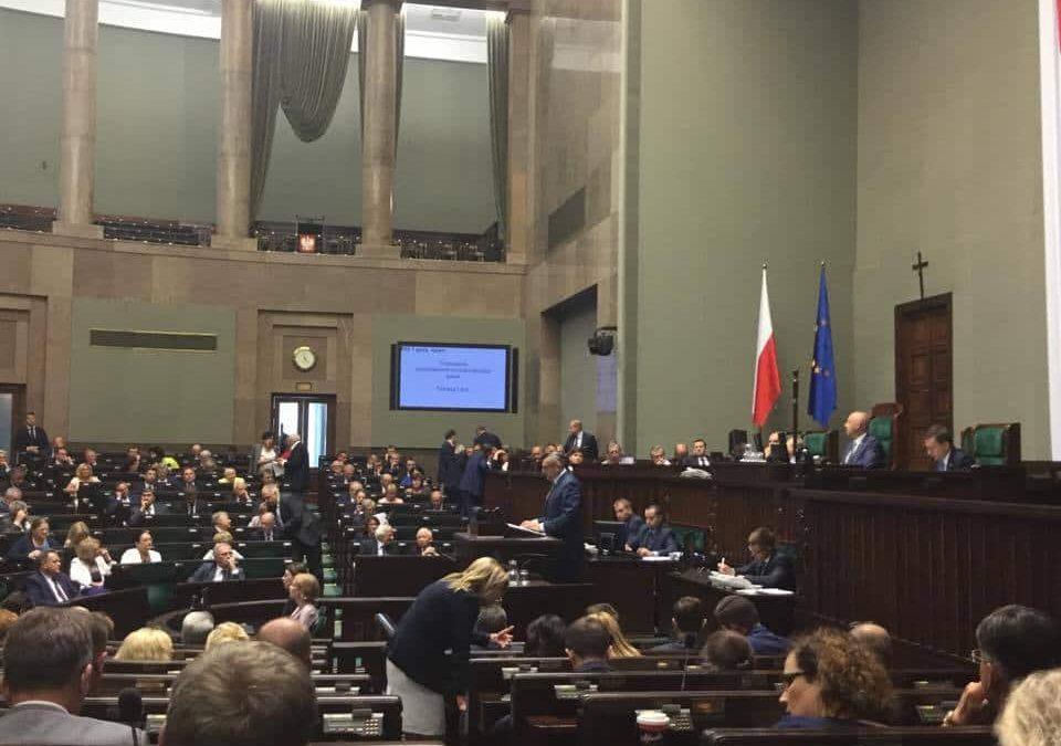 Pierwsze po wakacjach posiedzenie Sejmu