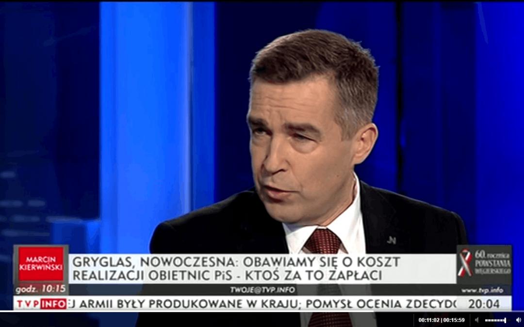 """""""Dziś wieczorem"""" 23.10.2016- Czarny Protest i kosztowne reformy PiS."""