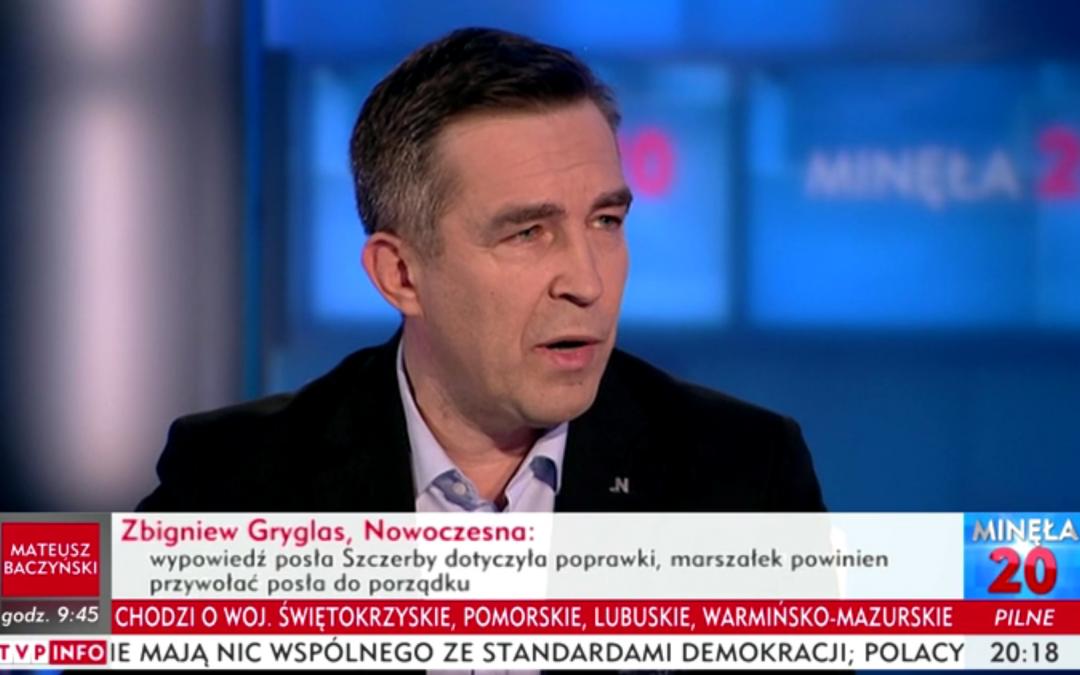 Stanowisko w sprawie mediów w Sejmie, wykluczeniu z obrad Posła opozycji oraz uchwaleniu Ustawy Budżetowej.