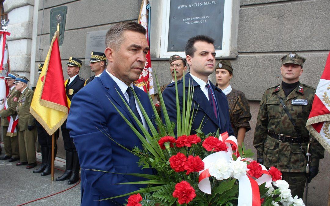 Rocznica zdobycia budynku PAST-y przez siły powstańcze.