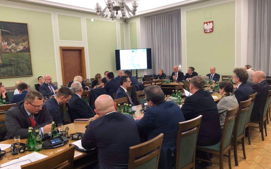 Inauguracyjne posiedzenie Zespołu Parlamentarnego ds. Trójmorza
