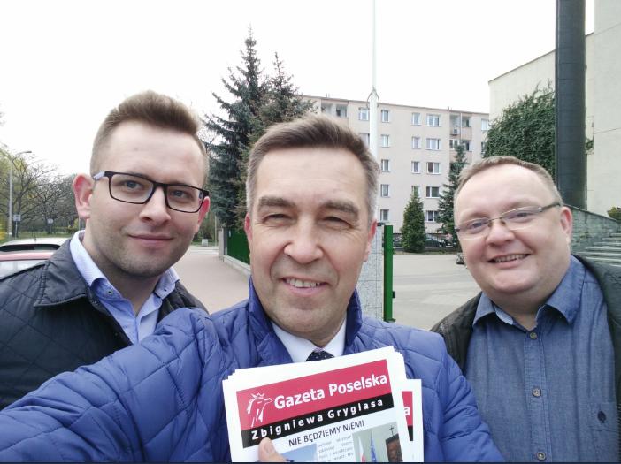 7 kwietnia- spotkanie z Wyborcami na Ochocie i w Ożarowie Mazowieckim