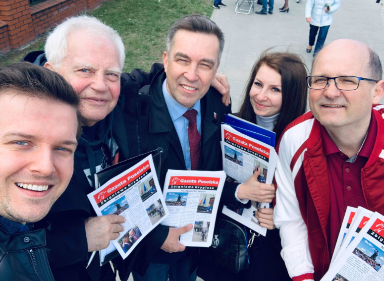31 marca-Spotkanie z wyborcami na Mokotowie