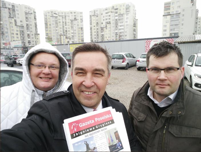 13 kwietnia Spotkanie z wyborcami na Targówku