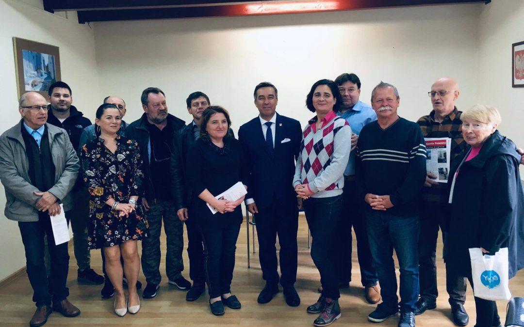 18 maja- spotkanie z Wyborcami w Łomiankach
