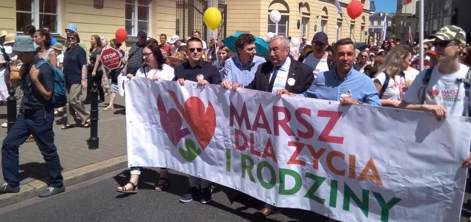 9 czerwca- Warszawski marsz dla Życia i Rodziny