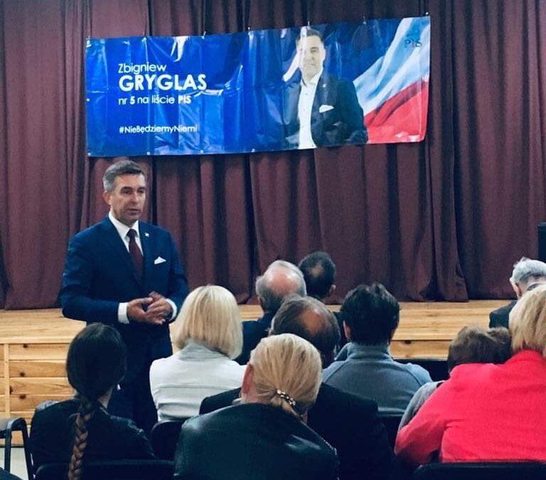 17 maja- spotkanie z Wyborcami w Zakroczymiu