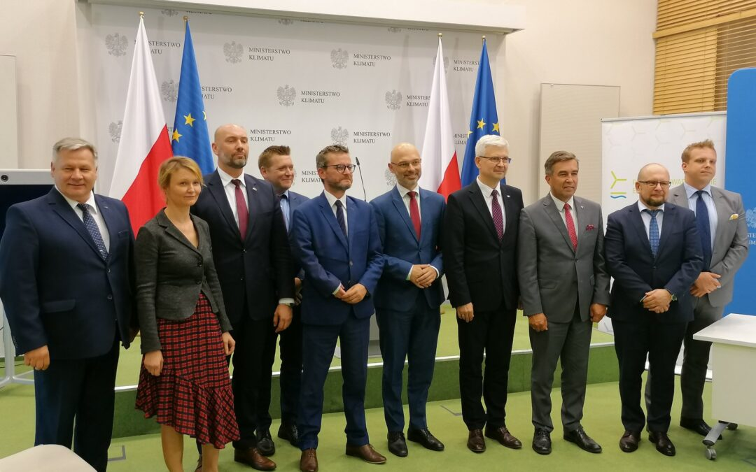Podpisanie listu intencyjnego w zakresie rozwoju MEW.