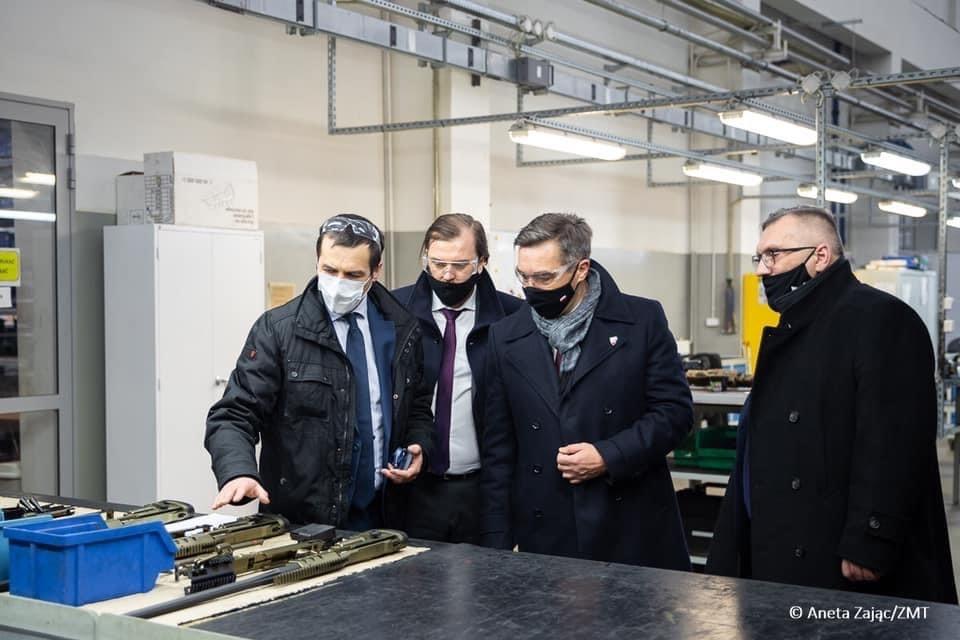 Wizyta w Zakładach Mechanicznych Tarnów